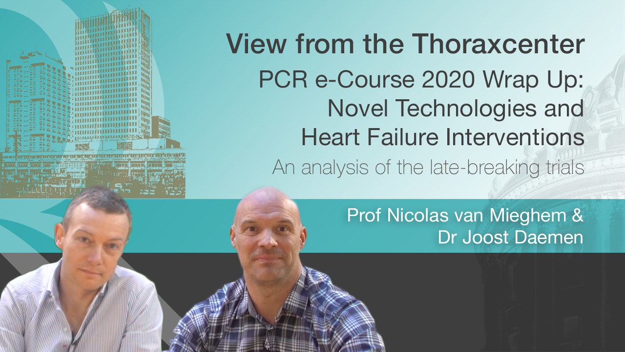 PCR e-Course 2020 Wrap Up: Novel Technologies and Heart Failure Interventions