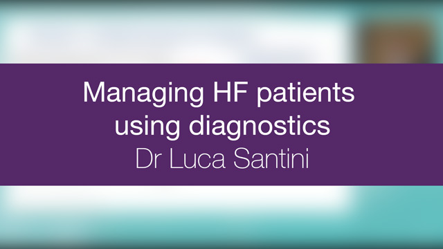Managing HF patients using diagnostics