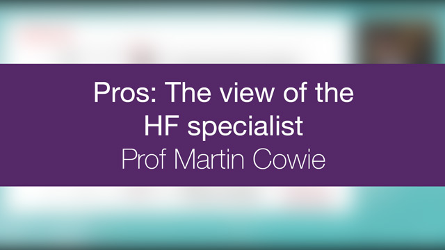 Pros : The view of the HF specialist
