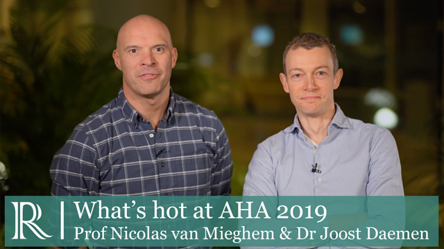 View from the Thoraxcenter - What's Hot at AHA 2019