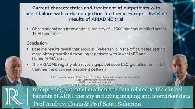 Commentary on the ARIADNE trial-Prof Andrew Coats & Prof Scott Solomon