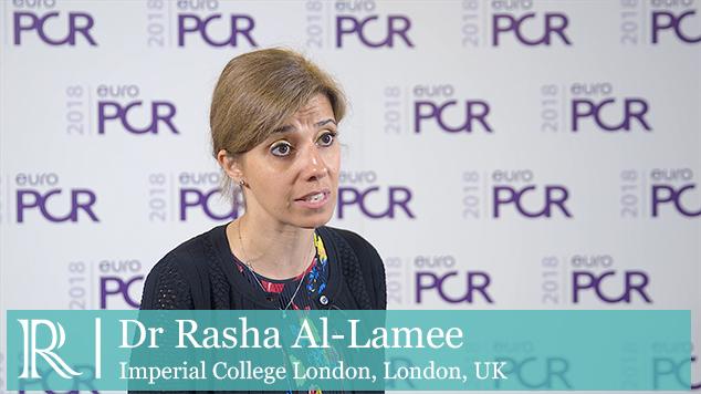 EuroPCR 2018: ORBITA with Dr Rasha Al Lamee