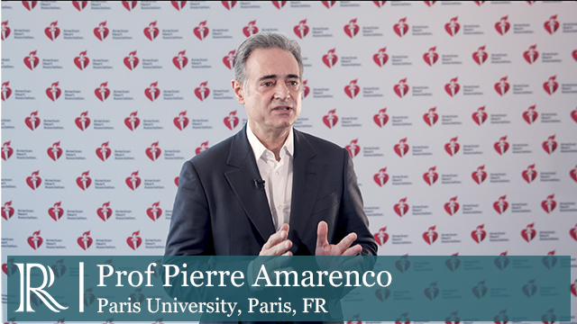 AHA 2019: Results from the Treat Stroke to Target (TST) Trial — Prof Pierre Amarenco