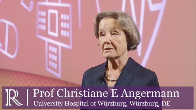 DGK 2019: Results REPORT-HF - Professor Christiane Angermann