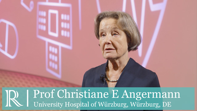 DGK 19: Results REPORT-HF - Professor Christiane Angermann