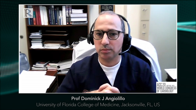 ACC 2020: Update from the TWILIGHT Study — Prof Dominick J Angiolillo