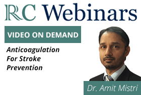 Anticoagilation for Stroke Prevention - Dr. Amit Mistri