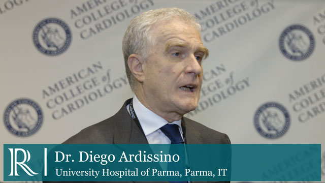 Clopidogrel In Acute Coronary Syndromes discusses with Diego Ardissino