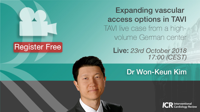 Expanding vascular access options in TAVI with Dr Won-Keun Kim