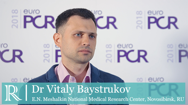 EuroPCR 2018: The TACTILE Trial - Dr Vitaly Baystrukov