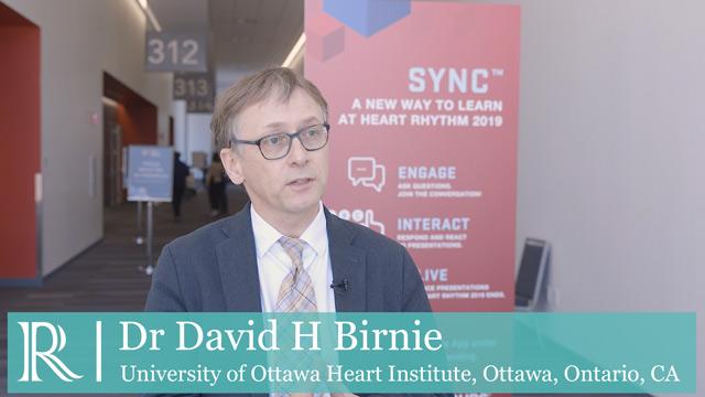 HRS 2019: Arrhythmia Device Infection (PADIT) - Dr David Birnie