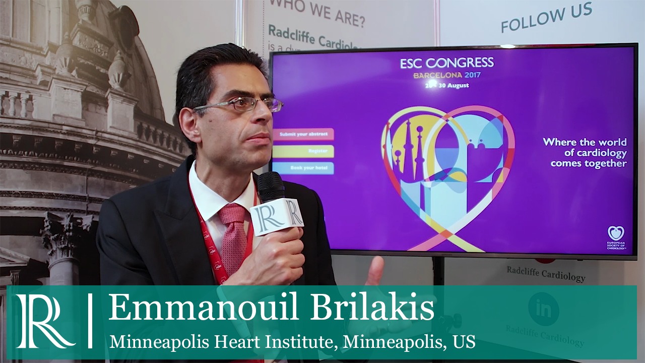 Drug-Eluting Stents Vs. Bare Metal Stents interview with Emmanouil Brilakis