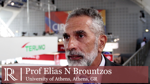 CIRSE 2018: Is transradial access a waste of time? - Prof Elias N. Brountzos