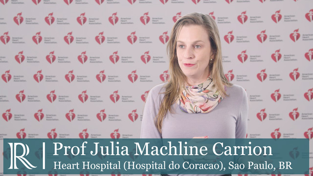 AHA 2018: The Bridge Stroke trial - Prof Julia Machline Carrion