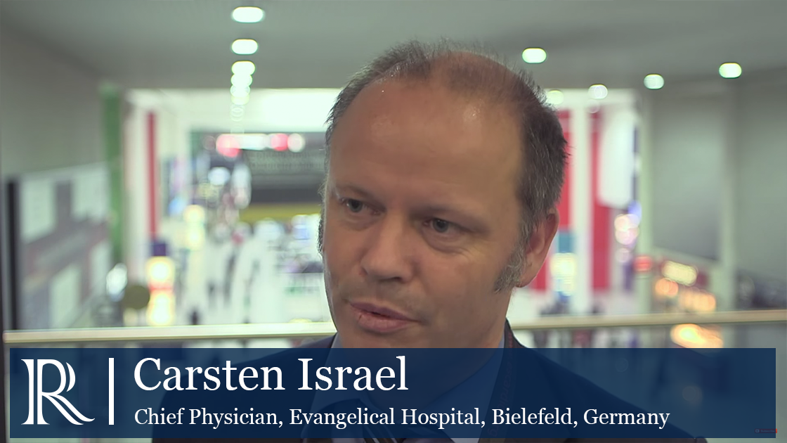 Quadripolar LV Pacing in ESC 2015 - Carsten Israel