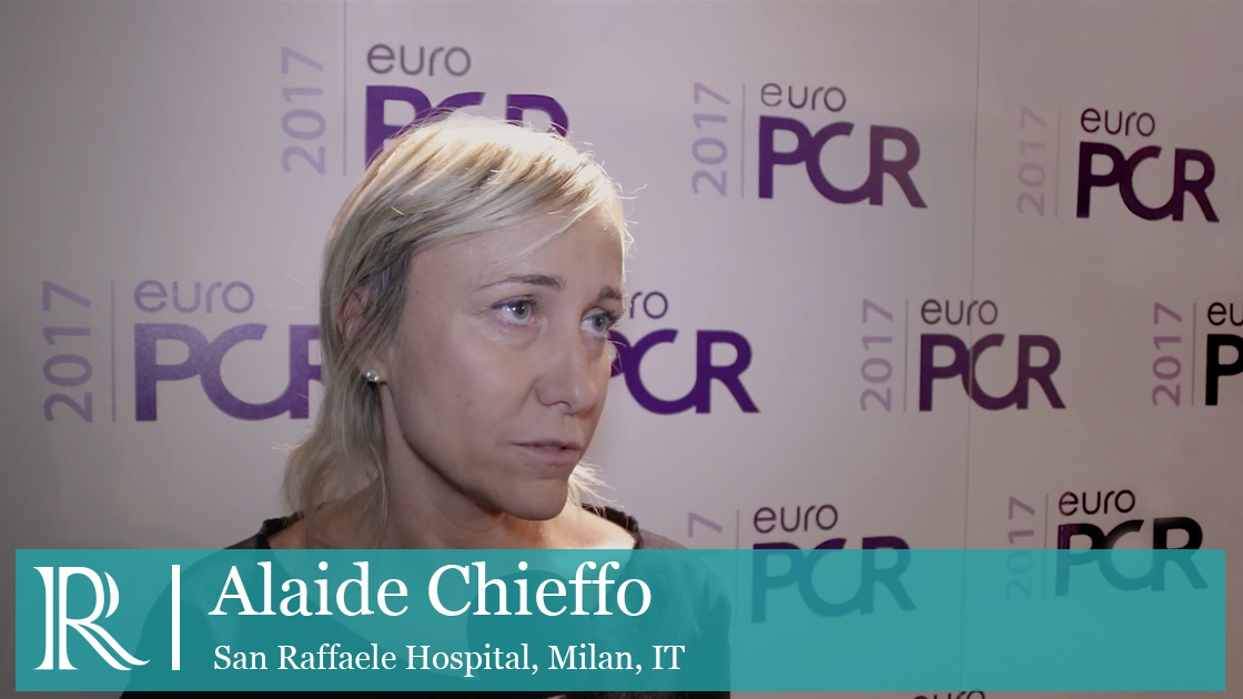 The EluNIR™ Drug-Eluting Stent At EuroPCR 2017 interview with Alaide Chieffo