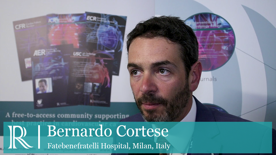 Association Between Radial Or Femoral Access Interview with Dr Bernardo Cortese