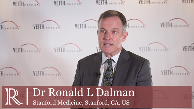 VEITH 2019 - AAA disease in diabetics – Dr Ronald L Dalman