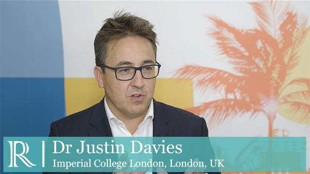 TCT 2018: CEREBRIA-1 - Dr Justin Davies