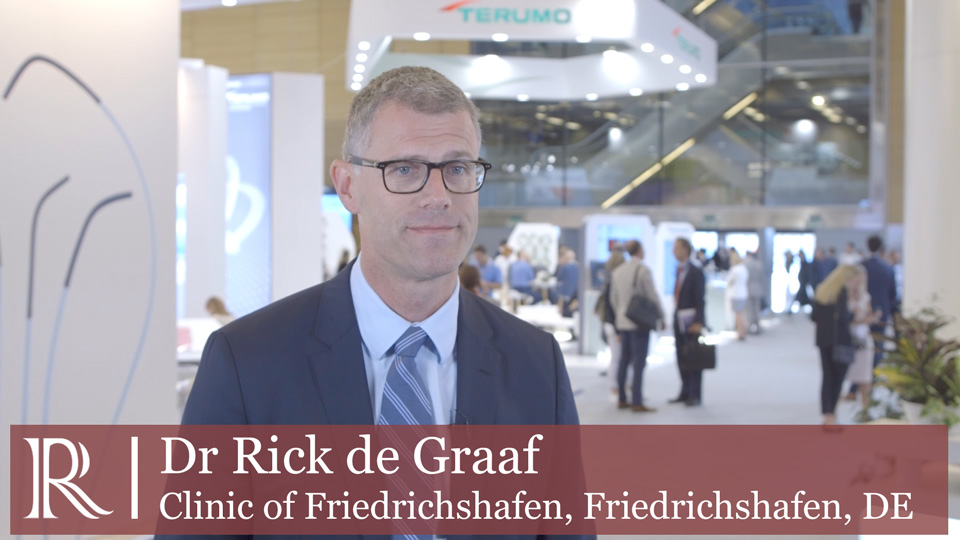 CIRSE 2019 : ATTRACT and its affect on clinical practice - Dr Rick de Graaf