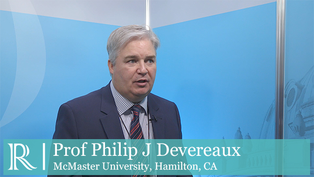 ESC 2018: MANAGE Trial - Prof Philip J Devereaux