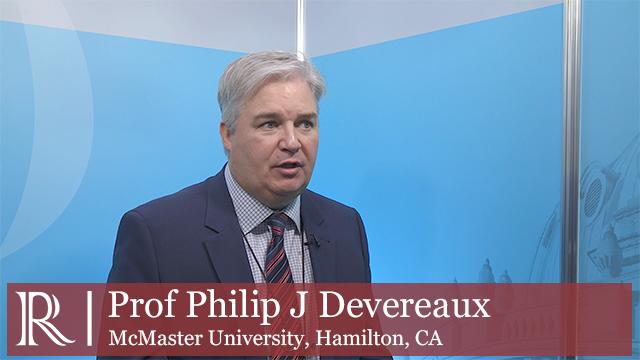 ESC 2018: MANAGE Trial - Prof Philip J Devereaux