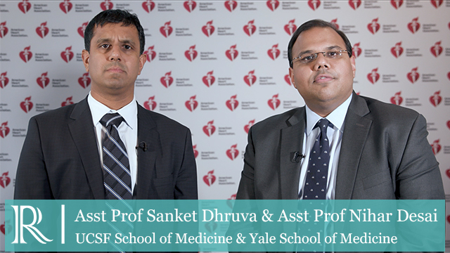 AHA 2019 - Mortality and Bleeding Among Patients with AMI Complicated by Cardiogenic Shock Undergoing PCI With Impella® vs IABP - Dr Nihar Desai and Dr Sanket Dhruva