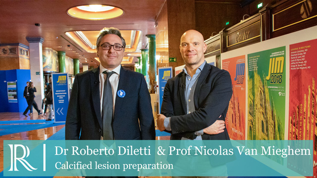 JIM 2020: Calcified lesion preparation — Dr Roberto Diletti & Prof Nicolas Van Mieghem