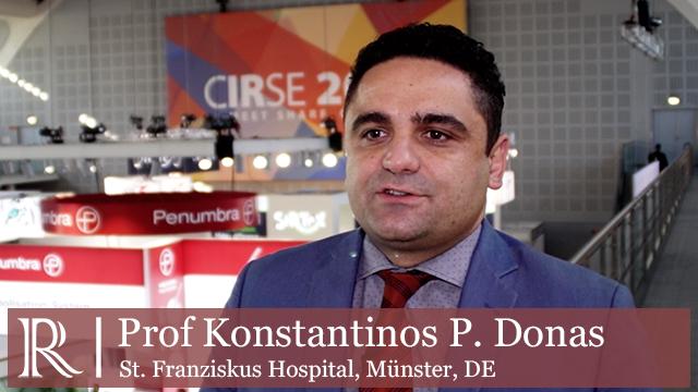 CIRSE 2018: PERICLES registry - Prof Konstantinos P. Donas