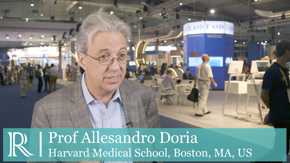 EASD 2019 : Personalised prevention of CVD in T2D- Prof Alessandro Doria