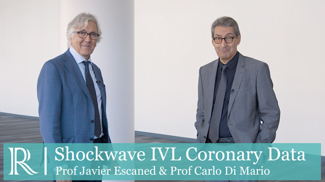 TCT 2019: Shockwave IVL Coronary Data - Prof Javier Escaned & Prof Carlo Di Mario