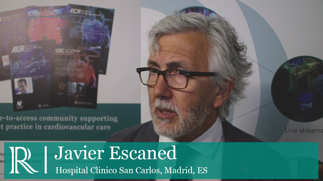 Safety Of Coronary Revascularisation Interview with Prof Javier Escaned