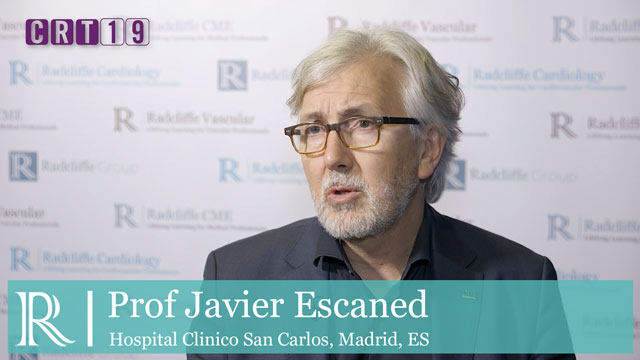 CRT 2019: ABSORB II Trial - Prof Javier Escaned