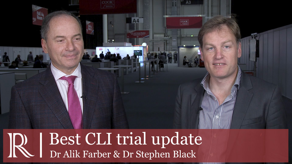 ESVS 2019: Best CLI trial update-Dr Alik Farber and Dr Stephen Black