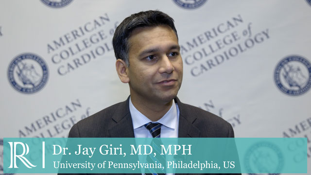 Anti-Platelet Therapy In PCI - ACC 2018 - ADAPT discusses with Jay Giri