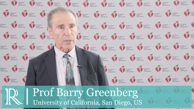 AHA 2018: Rivaroxaban - Prof Barry Greenberg