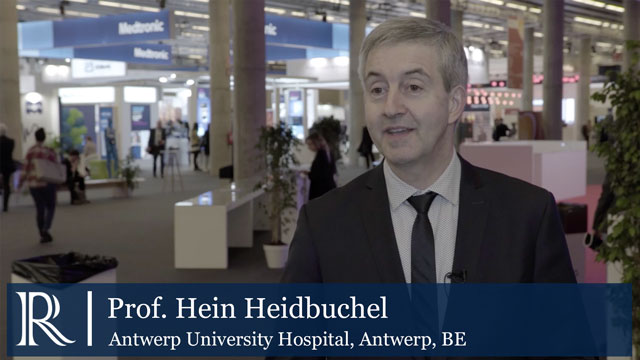 Scientific Highlights At EHRA 2018 discusses Prof. Hein Heidbuche