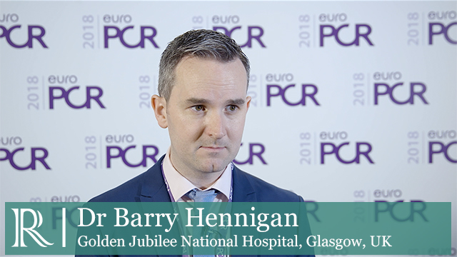 EuroPCR 2018: GZ-FFR Randomized Controlled Trial Of PCI Vs OMT - Dr Barry Hennigan
