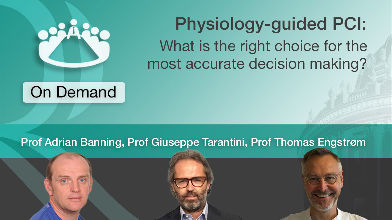 Physiology-guided PCI