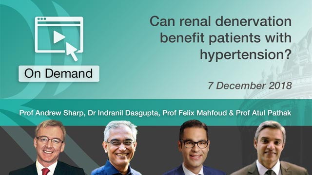 Renal Denervation Benefit Patients with Hypertension