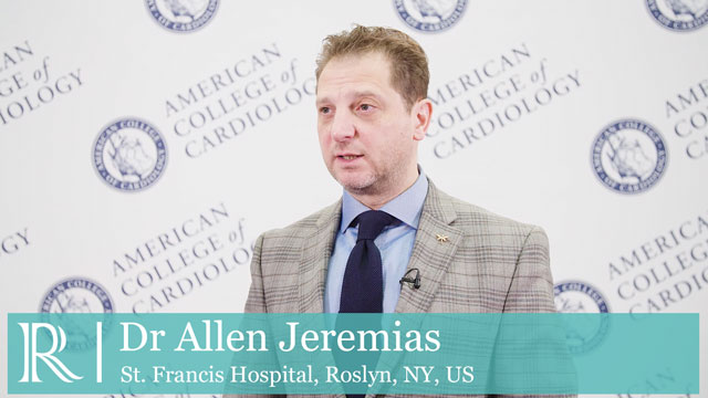 ACC 2019: The DEFINE PCI Trial​ - Dr Allen Jeremias
