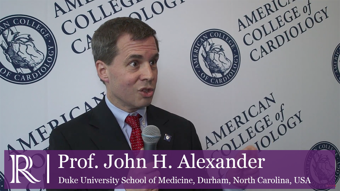 Left Ventricular Systolic Dysfunction Undergoing Cardiac Surgery with Professor John H. Alexander