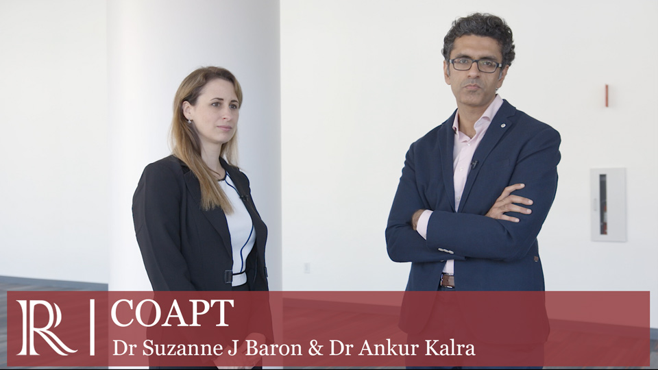 TCT 2019 : PARTNER 3 - Dr Suzanne J Baron and Dr Ankur Kalra