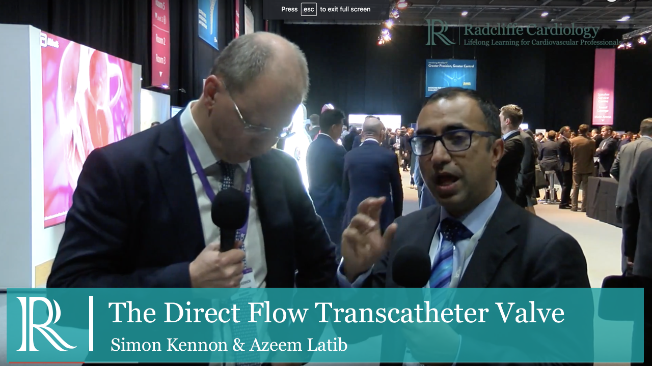 PCR London Valves 2016: The Direct Flow Transcatheter Valve