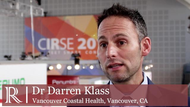 CIRSE 2018: Transradial Access for PAD - Dr Darren Klass