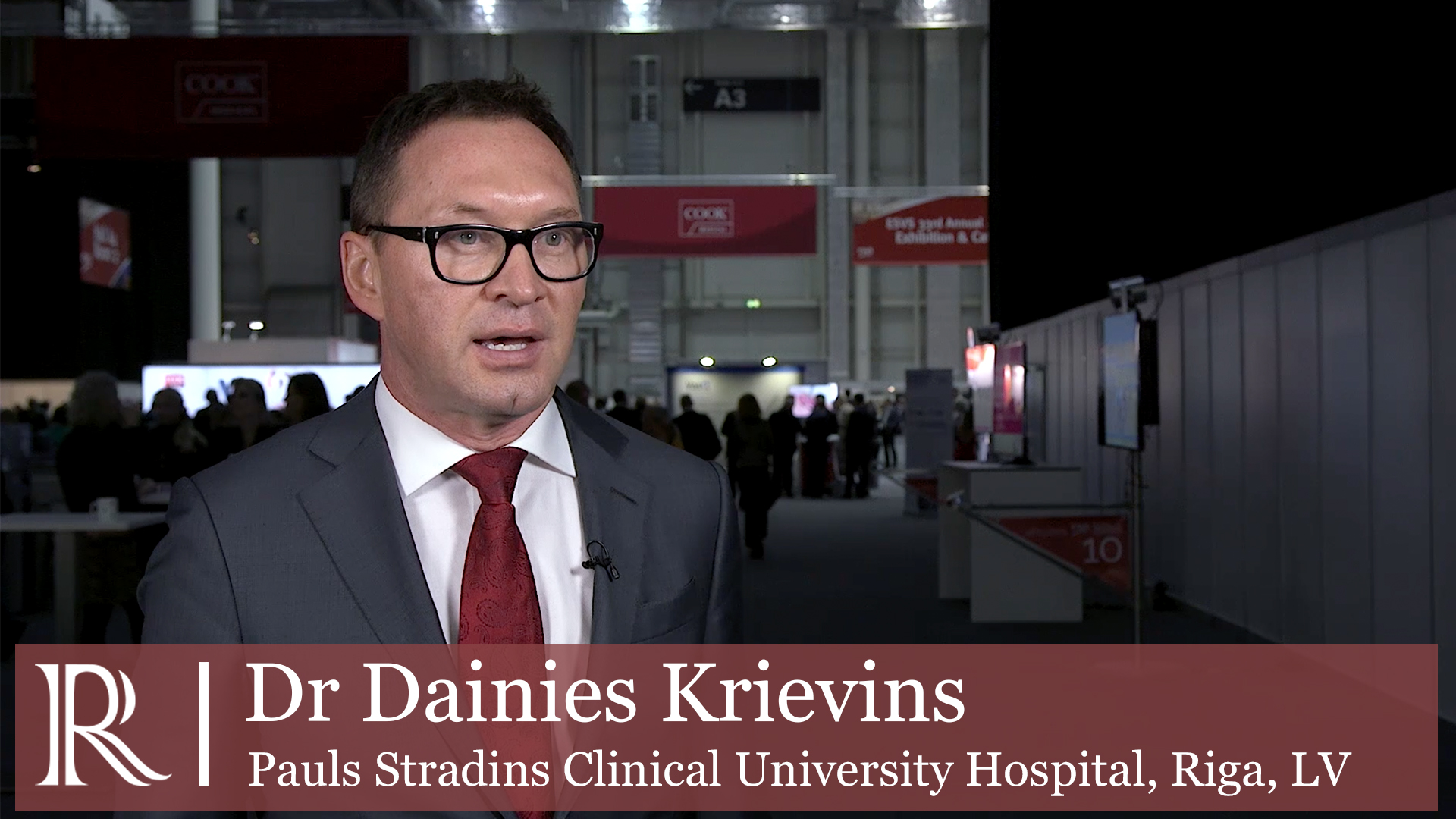 ESVS 2019: Pre-operative testing for silent coronary ischemia using coronary CT angiography - Dr Dainis Krievins