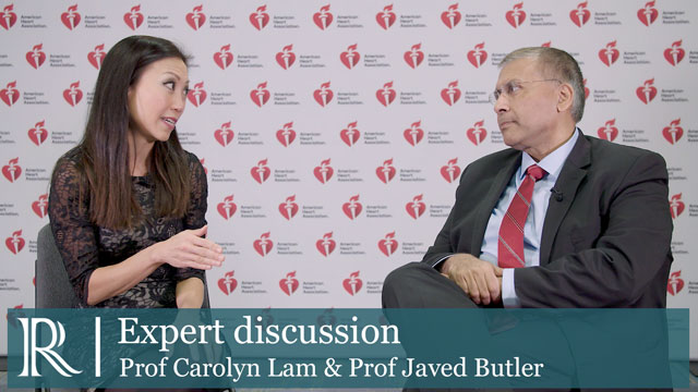 AHA 2018: Should cardiologists be following the new EASD/ADA guidelines - Prof Carolyn Lam & Prof Javed Butler
