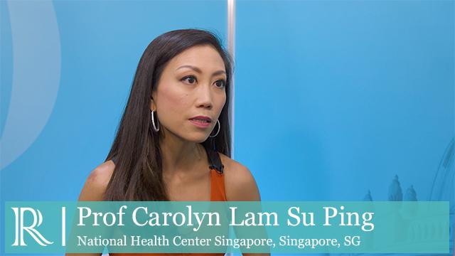 ESC 2018: PROMIS-HFpEF - Prof Carolyn Lam Su Ping
