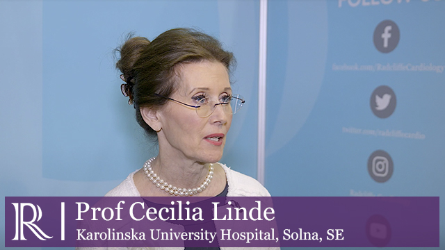 The ESC CRT Survey II - Professor Cecilia Linde