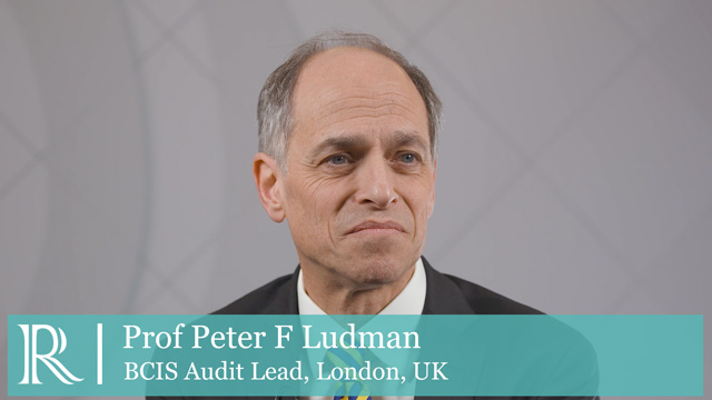 BCIS ACI 2020: Highlights from BCIS National Audit — Prof Peter F Ludman